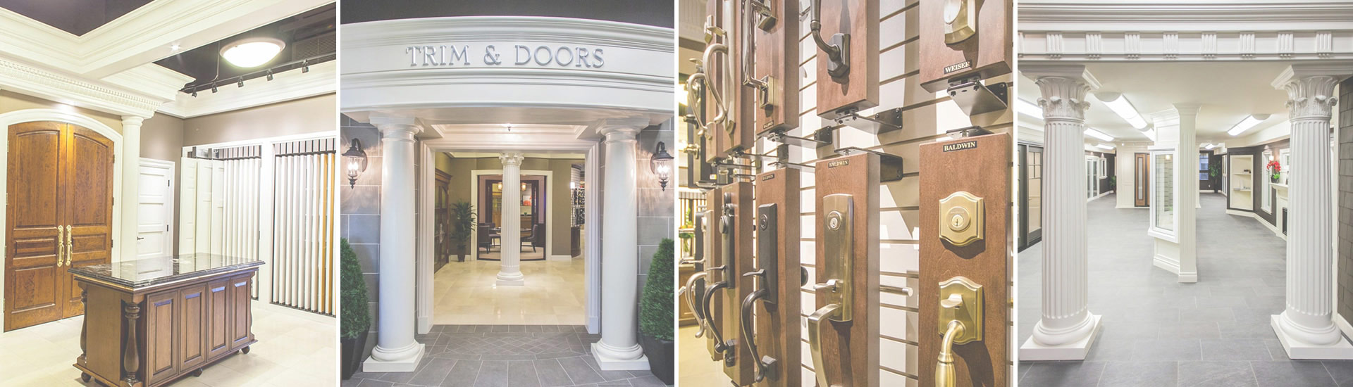Visit Turkstra Designer Showcase - Located in Stoney Creek has a vast collection of windows, trims, doors, hardware, columns, siding, decking already built and installed for your project ideas.
