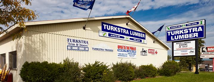 Turkstra Lumber Niagara Falls. Decking, windows, doors, hardware, lumber, sidng, pole barns, building materials, tools, estimating and window and doors installation services.